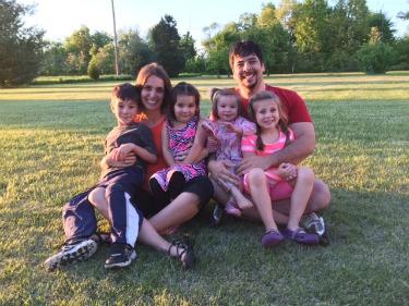 Dr Oana Honey and Family