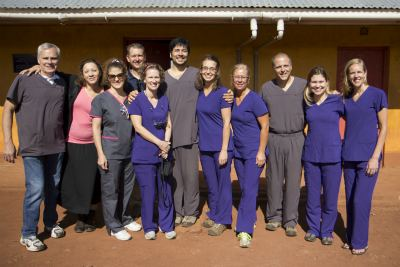 Honey Orthodontics Kenya Mission Oasis for Orphans Dental Team Photo