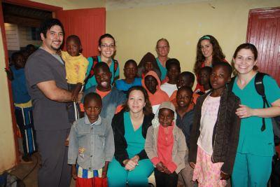 Honey Orthodontics in Gurnee IL - Kenya Mission Oasis for Orphans - Group Photo